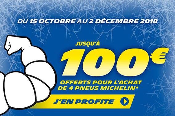 PROMOTION MICHELIN / DU 15 OCTOBRE AU 2 DECEMBRE