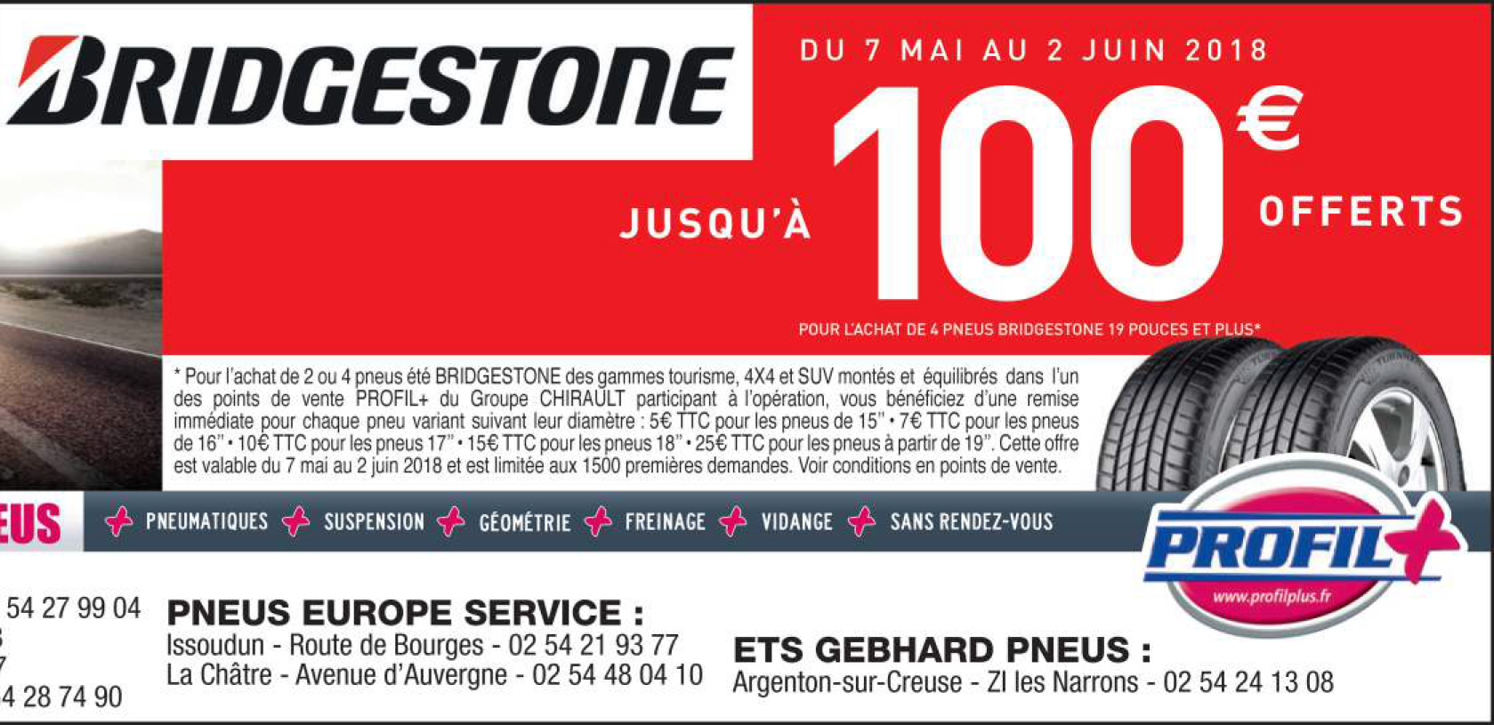 PROMOTION BRIDGESTONE